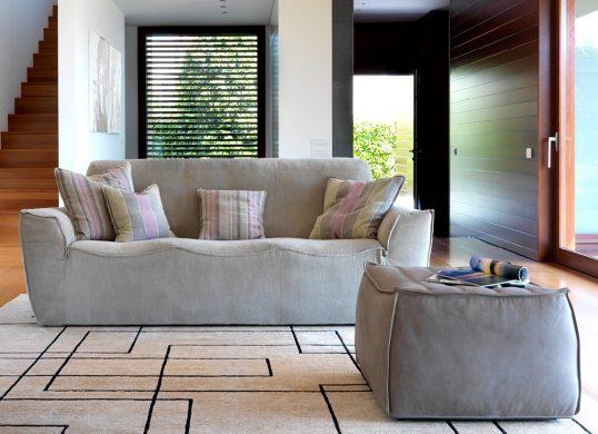 Wohnhalle-Sofa-Polstergruppe