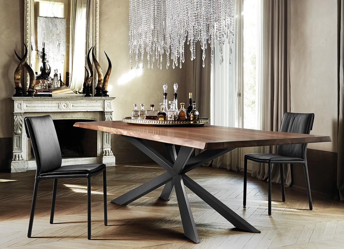 Wohnhalle Esstisch Tisch Stuhl ItalyDesignStore