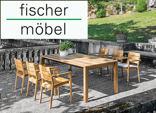 fischer Möbel Gartenmöbel Katalog