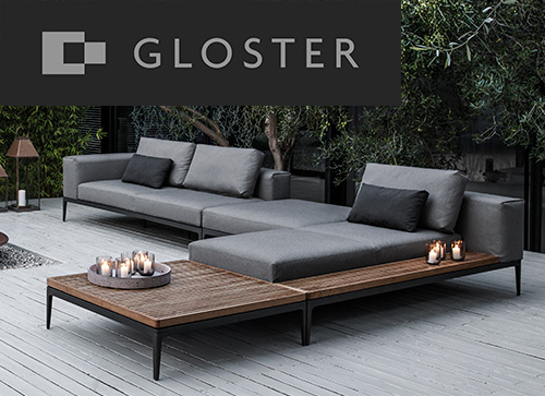 Gloster Gartenmöbel-Katalog
